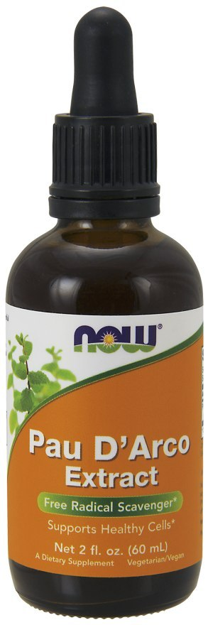 NOW FOODS Pau D'arco extract (lapacho) 60ml