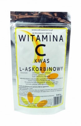 Witamina C (kwas L-Askorbinowy) 340 g JUST MEN