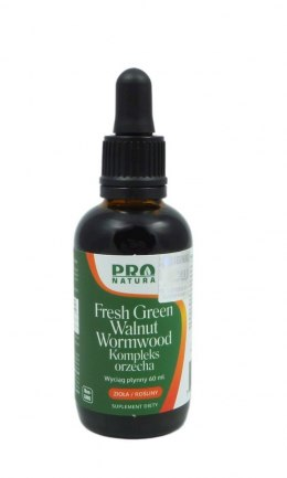 Fresh Green Walnut - Kompleks orzecha 60ml PRO NATURA