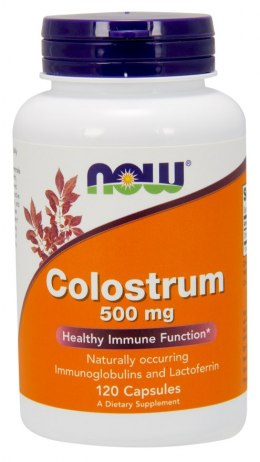 Colostrum 120 kaps. NOW FOODS