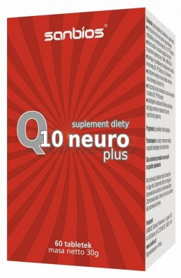 Q10 Neuro Plus 60 tabl. SANBIOS
