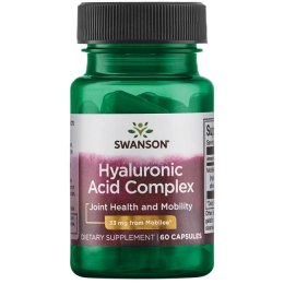 Kwas hialuronowy complex (Hyaluronic Acid Complex) 60 kaps. SWANSON
