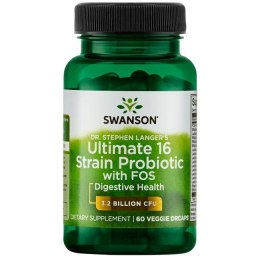 Ultimate 16 strain probiotic 60 kaps. SWANSON