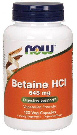 Betaine HCL 120 kaps. NOW FOODS